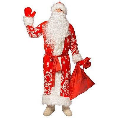 Дедушка Мороз приветствует всех.