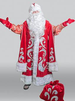 Богатый Дед Мороз  Костюм Деда Мороза Богатый