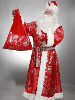 Дед Мороз с Узорами Костюм Деда Мороза с узорами