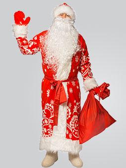 Меховой Дед Мороз  Костюм Деда Мороза Меховой